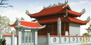 Các mẫu nhà thờ họ mái cong được thiết kế độc đáo tại Việt Nam