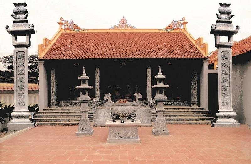 Các mẫu nhà thờ họ cổ trang nghiêm đậm nét truyền thống của người Việt