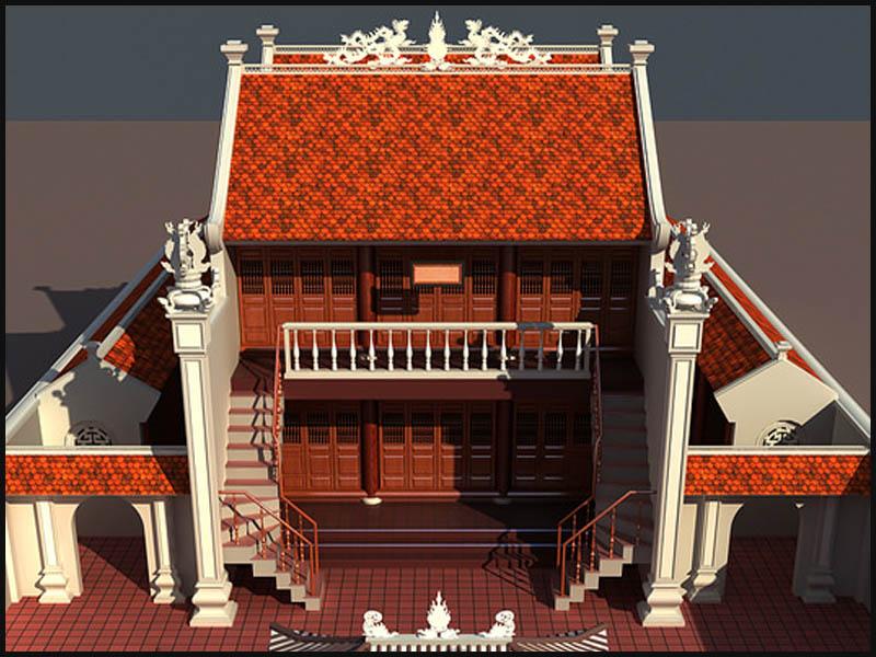 Nhà thờ họ khá phổ biến trong văn hóa tâm linh của người Việt