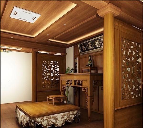 Thiết kế nội thất phòng thờ ở Tây Hồ Chuẩn phong thủy gia chủ