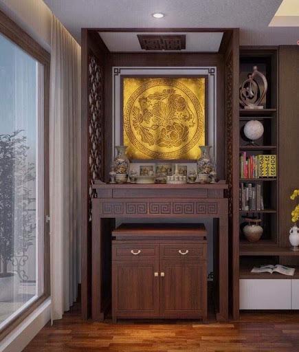 Vách ngăn bàn thờ Hà Nội đẹp - Giá rẻ - Mẫu mới nhất 2020
