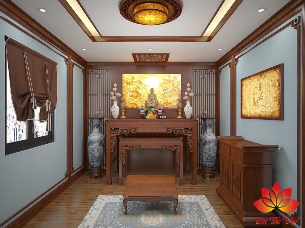 Địa chỉ thiết kế phòng thờ ở Lạng Sơn đẹp và chuẩn phong thủy