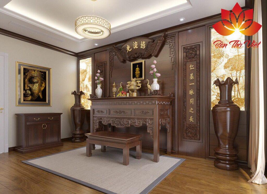 10+ Mẫu phòng thờ ở Phú Thọ đẹp Chuẩn Phong Thủy 2021