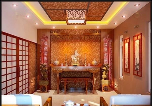Địa chỉ thiết kế phòng thờ ở Việt Trì Uy Tín, nhiều mẫu đẹp