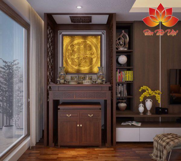 Một số mẫu thiết kế nội thất phòng thờ ở Sơn La cho khách hàng