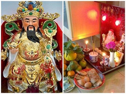 Tìm hiểu phong tục thờ Thần Tài - Ông Địa của người Việt