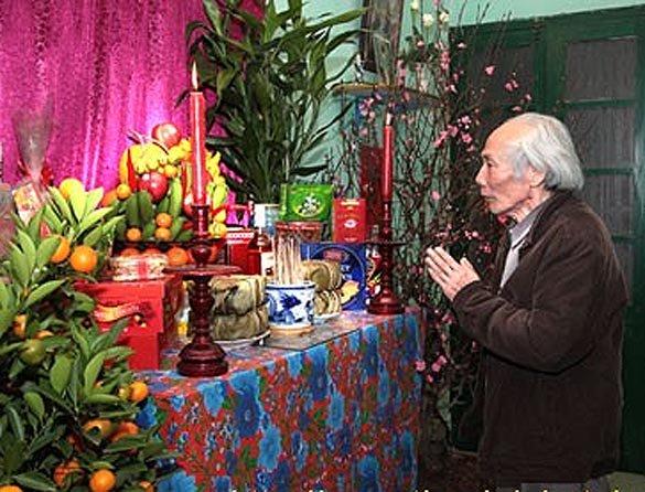 Phong tục thờ cúng tổ tiên ngày TẾT của người Việt