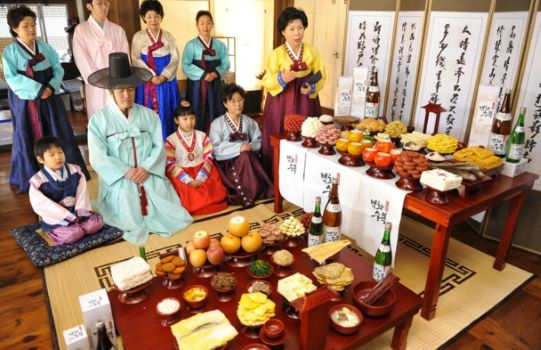 Khám phá phong tục thờ cúng của người Hàn Quốc