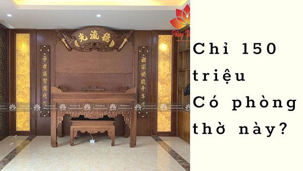 Video Phòng thờ gia đình chị Linh- Vĩnh Phúc