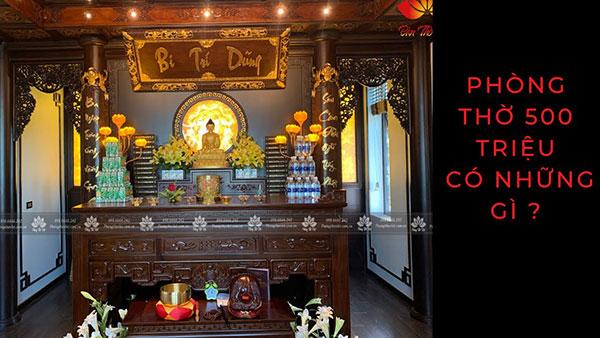 Video thi công phòng thờ tại Thành Phố Việt Trì - Phú Thọ