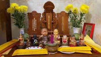 Cách thờ cúng Kumanthong cầu mong phát tài của người Thái