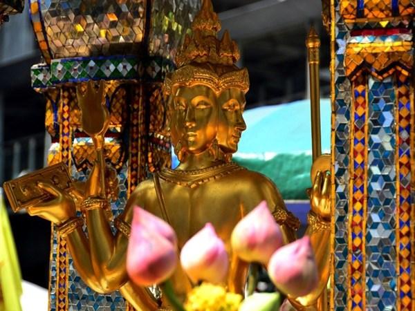 Cách thờ thần Tứ Diện - Phật bốn mặt Thái Lan
